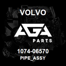 1074-06570 Volvo PIPE_ASSY | AGA Parts