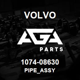 1074-08630 Volvo PIPE_ASSY | AGA Parts