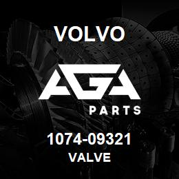 1074-09321 Volvo VALVE   AGA Parts