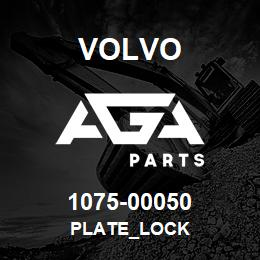 1075-00050 Volvo PLATE_LOCK | AGA Parts