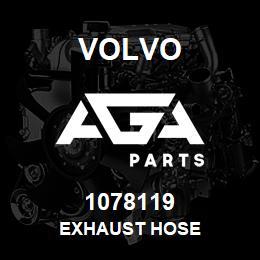 1078119 Volvo Flexible Hose, Exhaust Hose | AGA Parts