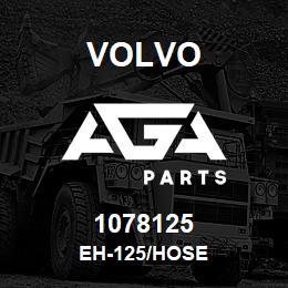 1078125 Volvo EH-125/HOSE | AGA Parts