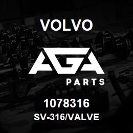 1078316 Volvo SV-316/VALVE | AGA Parts
