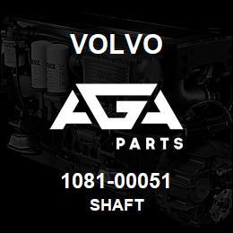 1081-00051 Volvo SHAFT | AGA Parts