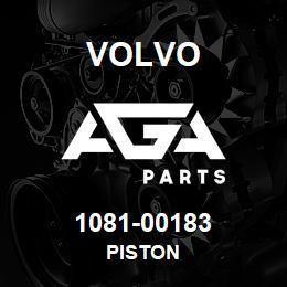 1081-00183 Volvo PISTON | AGA Parts