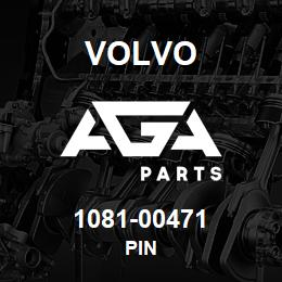 1081-00471 Volvo PIN | AGA Parts