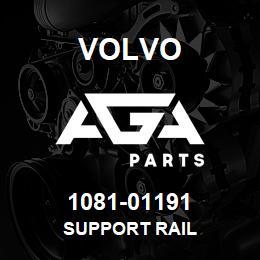 1081-01191 Volvo SUPPORT RAIL | AGA Parts