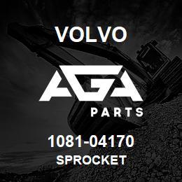 1081-04170 Volvo SPROCKET | AGA Parts