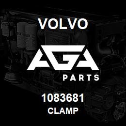 1083681 Volvo Clamp | AGA Parts