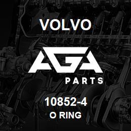 10852-4 Volvo O RING | AGA Parts