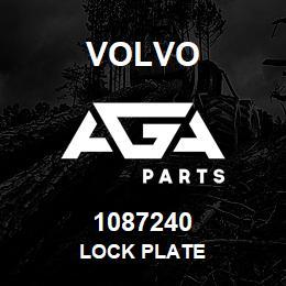 1087240 Volvo LOCK PLATE | AGA Parts