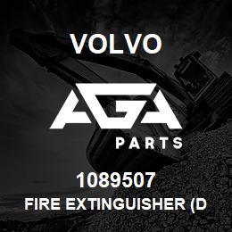 1089507 Volvo FIRE EXTINGUISHER (DG) | AGA Parts