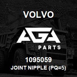 1095059 Volvo JOINT NIPPLE (PQ=5) | AGA Parts