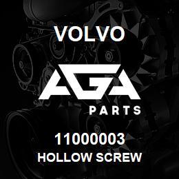 11000003 Volvo HOLLOW SCREW | AGA Parts