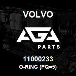 11000233 Volvo O-RING (PQ=5) | AGA Parts
