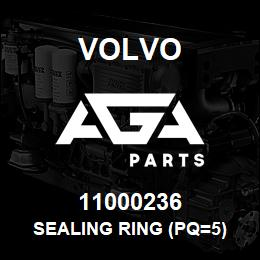 11000236 Volvo SEALING RING (PQ=5) | AGA Parts