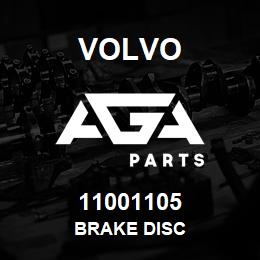 11001105 Volvo Brake Disc | AGA Parts