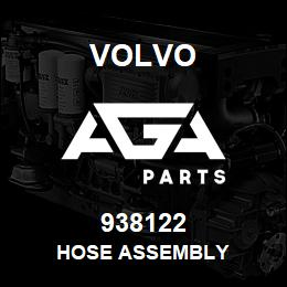 938122 Volvo HOSE ASSEMBLY | AGA Parts