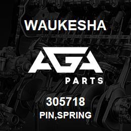 305718 PIN,SPRING 305718 Waukesha repuesto, recambio