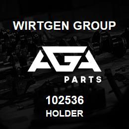102536 Wirtgen Group HOLDER | AGA Parts
