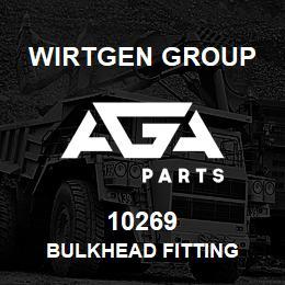 10269 Wirtgen Group BULKHEAD FITTING | AGA Parts