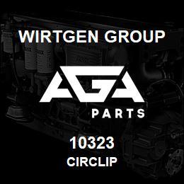 10323 Wirtgen Group CIRCLIP | AGA Parts