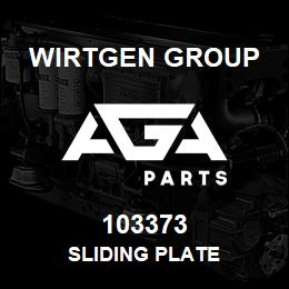 103373 Wirtgen Group SLIDING PLATE | AGA Parts