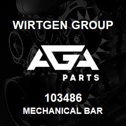103486 Wirtgen Group MECHANICAL BAR | AGA Parts