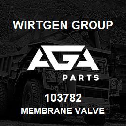 103782 Wirtgen Group MEMBRANE VALVE | AGA Parts