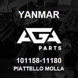 101158-11180 Yanmar PIATTELLO MOLLA | AGA Parts