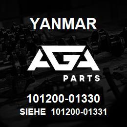 101200-01330 Yanmar siehe 101200-01331   AGA Parts