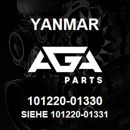 101220-01330 Yanmar siehe 101220-01331   AGA Parts