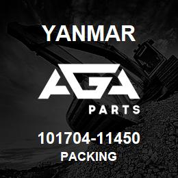 101704-11450 Yanmar PACKING | AGA Parts