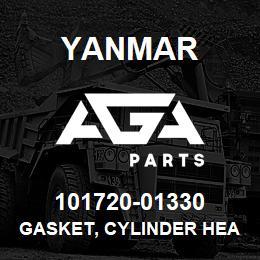 101720-01330 Yanmar gasket, cylinder head | AGA Parts