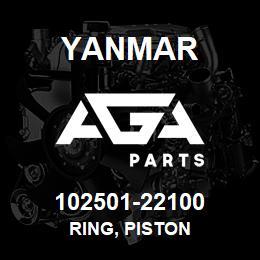 102501-22100 Yanmar ring, piston | AGA Parts