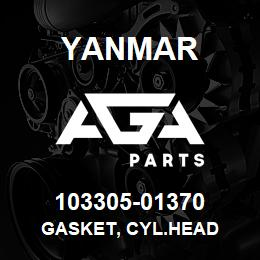 103305-01370 Yanmar GASKET, CYL.HEAD | AGA Parts