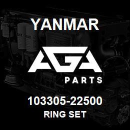 103305-22500 Yanmar RING SET | AGA Parts