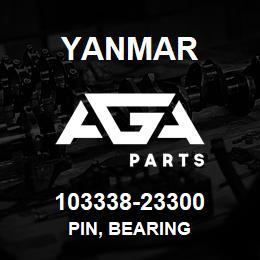 103338-23300 Yanmar pin, bearing | AGA Parts