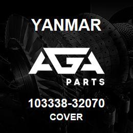 103338-32070 Yanmar cover | AGA Parts