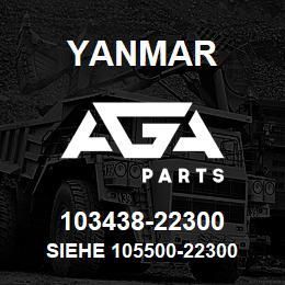 103438-22300 Yanmar siehe 105500-22300 | AGA Parts