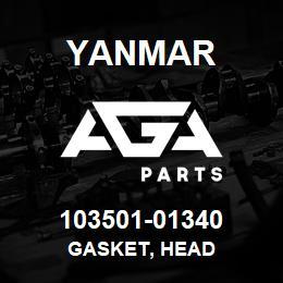 103501-01340 Yanmar GASKET, HEAD | AGA Parts