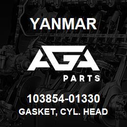 103854-01330 Yanmar gasket, cyl. head | AGA Parts