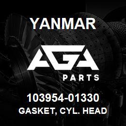 103954-01330 Yanmar gasket, cyl. head | AGA Parts