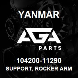 104200-11290 Yanmar SUPPORT, ROCKER ARM | AGA Parts