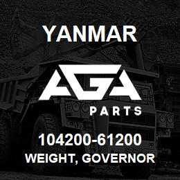 104200-61200 Yanmar weight, governor | AGA Parts