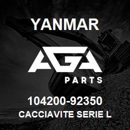 104200-92350 Yanmar CACCIAVITE SERIE L | AGA Parts