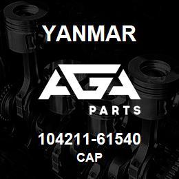 104211-61540 Yanmar cap | AGA Parts