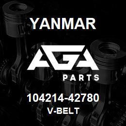 104214-42780 Yanmar V-BELT | AGA Parts