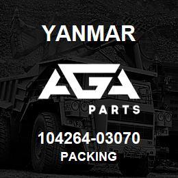 104264-03070 Yanmar packing | AGA Parts