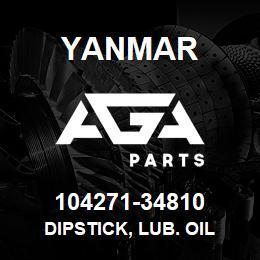 104271-34810 Yanmar dipstick, lub. oil | AGA Parts